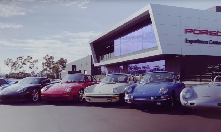 Porsche history in a nutschell