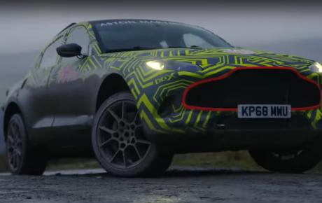 Off-Road gaan met de Aston Martin DBX
