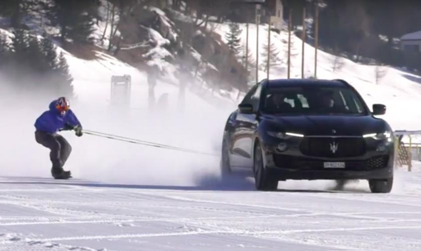 Wat heeft Maserati met wintersport te maken?