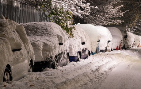 Wat te doen als uw auto in een iglo is veranderd?