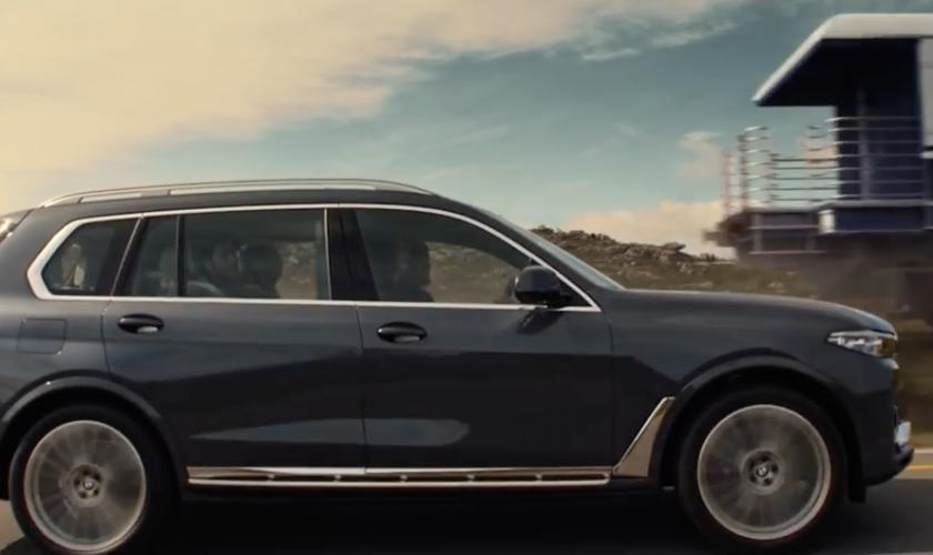 De BMW X7, heartbeat in overdrive…