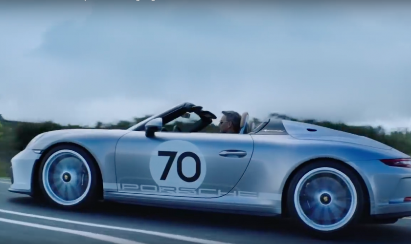 Going topless with the new Porsche 911 Speedster.