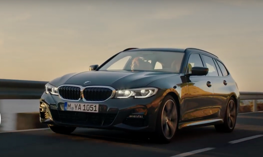 De nieuwe BMW 3 touring, één en al charisma.