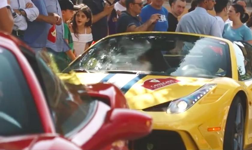 De Ferrari Cavalcade 2019 @ Capri.