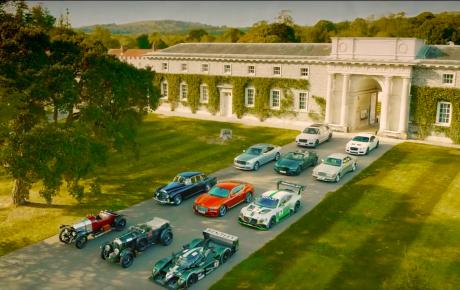 Even wegdromen met Bentley richting het Goodwood Festival of Speed 2019.