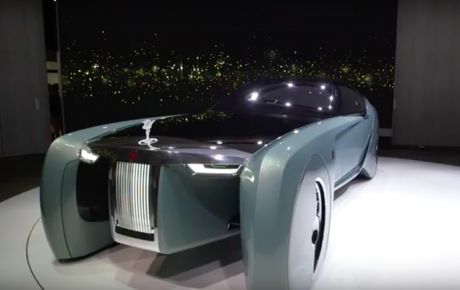 De Rolls Royce 2035 Contept Car is voor ons een NO-GO.