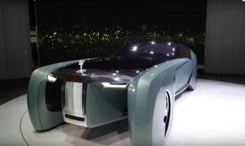 De Rolls Royce 2035 Contept Car is voor ons een NO-GO.