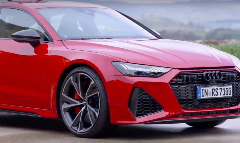 Boem, hier is de 2020 Audi RS7 Sportback.